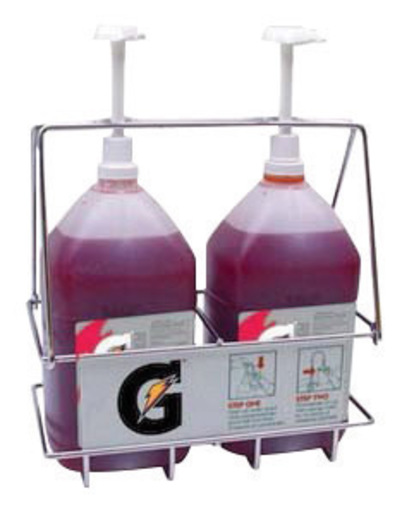 Gatorade® Concentrate Dispenser Rack With Two Pumps