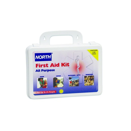North® By Honeywell Plastic 25 Person General Purpose Portable First Aid Kit