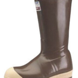 "Norcross Size 7 XTRATUF® Copper Tan 16"" Insulated Neoprene Boots With Chevron Outsole And Steel Toe"