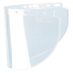 "Fibre-Metal® by Honeywell High Performance® Model 4178 8"" X 16 1/2"" X .06"" Clear Injection Molded Propionate Wide View Faceshield"