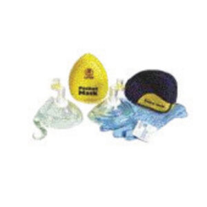 North® by Honeywell Laerdal® Pocket Mask™ CPR Pocket Mask (Includes Oxygen Inlet, Gloves, Wipe, Head Strap And Yellow Hard Case)