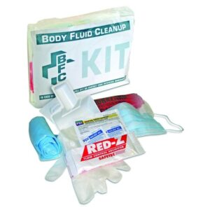 North® by Honeywell Clear Poly Bag Body Fluid Clean-Up Kit