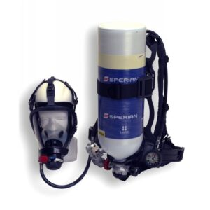Honeywell Cougar™ 2216 psig Industrial Self Contained Breathing Apparatus With Alarm, Cylinder, Facepiece And 30 Minute Aluminum Cylinder