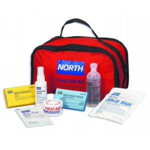 North® by Honeywell Red And Black Portable Soft Pak First Response First Aid Kit