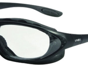 Uvex™ By Honeywell Seismic® 2.0 Diopter Safety Glasses With Black Polycarbonate Frame And Clear Polycarbonate Uvextreme® Anti-Fog Lens
