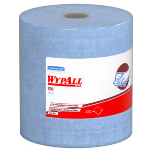 "Kimberly-Clark Professional* WYPALL* X90 11.1"" X 13.4"" White Heavy Duty Cloth (450 Sheets Per Jumbo Roll, 1 Roll Per Case)"