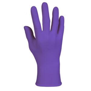 Kimberly-Clark Professional* Medium Purple Nitrile* 6 mil Latex-Free Powder-Free Disposable Gloves (100 Gloves Per Box)