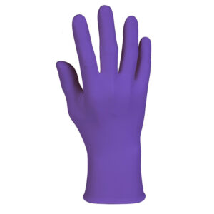 Kimberly-Clark Professional* Large Purple Nitrile* 6 mil Latex-Free Powder-Free Disposable Gloves (100 Gloves Per Box)