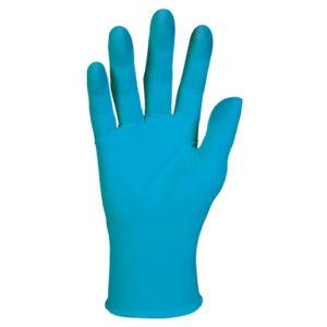 Kimberly-Clark Professional* X-Large Blue KleenGuard* G10 6 mil Latex-Free Nitrile Powder-Free Disposable Gloves (90 Gloves Per Box)