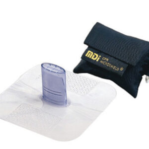 MDI® Microshield® MicroKey™ CPR Rescue Breather With Attached Key Ring (Black Nylon Case)