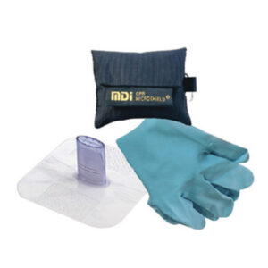 MDI® MicroKey-Pro™ CPR Kit (Includes Rescue Breather, Nitrile Gloves And Black Nylon Pouch)
