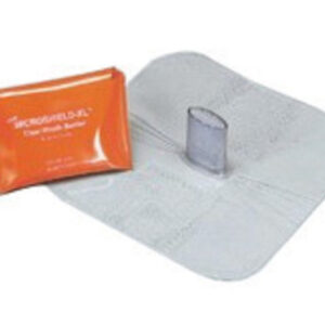 MDI® Microshield® X-Large CPR Rescue Breather (Includes One-Way Valve And Orange Plastic Pouch)