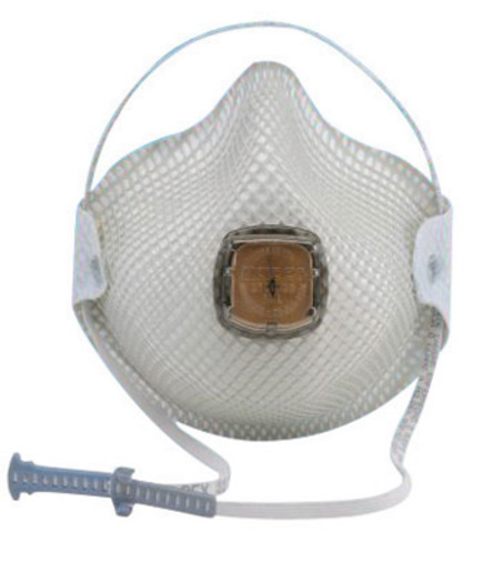 Moldex® Small N95 Disposable Particulate Respirator With Ventex® Exhalation Valve