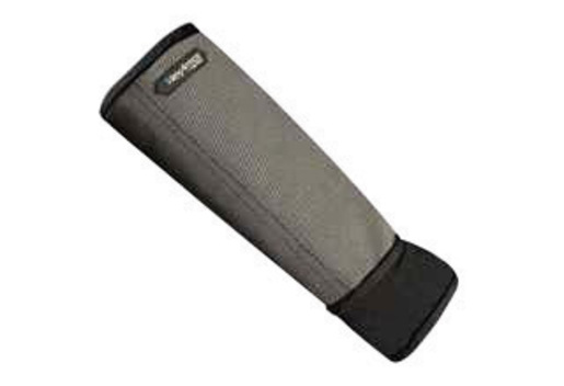 HexArmor® Small Black And Gray Light Weight SuperFabric® Cut And Puncture Resistant Single Layer Arm Guard With Spandex Wrist Insert And Thumb Hole